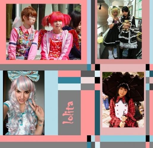 d3fa851663 A japánból eredő Lolita stílus az extravagancia egy női változata. Emo és  Reggae stílus