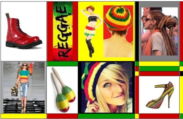 4662e80250 A reggae zenei stílus a szabadságot, az elnyomásellenességet hirdeti. Ebből  ered a jellegzetes raszta hajviselettel, az élénk színekkel ...